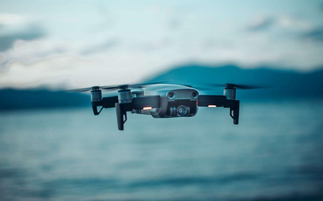 Un paseo único a bordo de un dron