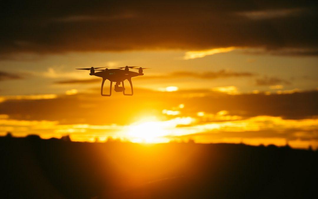 China recibe el año con drones